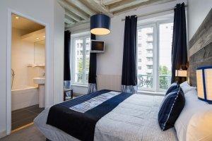 Les chambres Standards de l'Hôtel Claret Bercy